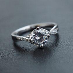 "Cirkónia köves gyűrű ""Julia"""