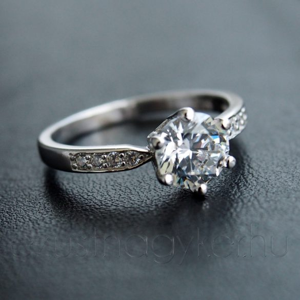 "Cirkónia köves gyűrű ""Andrea"""