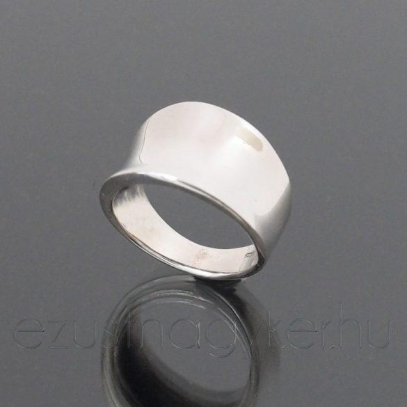 Homorú ezüst gyűrű
