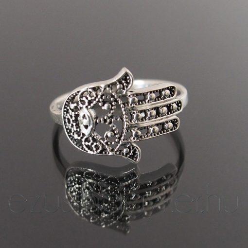Hamsa / Fatima keze gyűrű 2