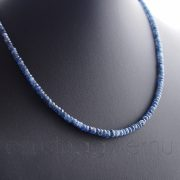 Zafír fűzött verlauf nyaklánc