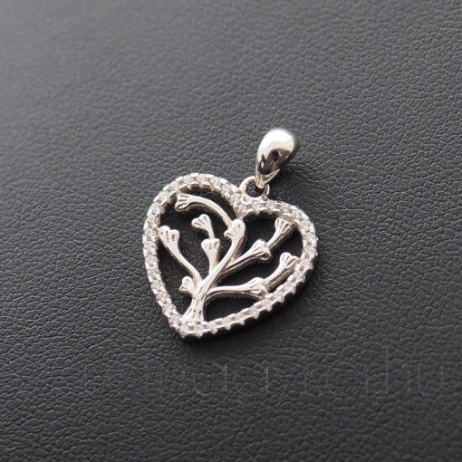Életfa szív medál 2