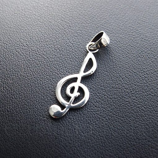 Violinkulcs ezüst medál