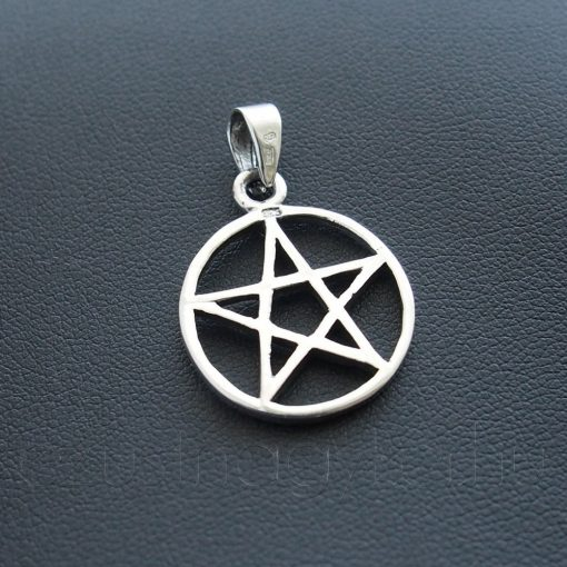 Pentagramm ezüst medál 2