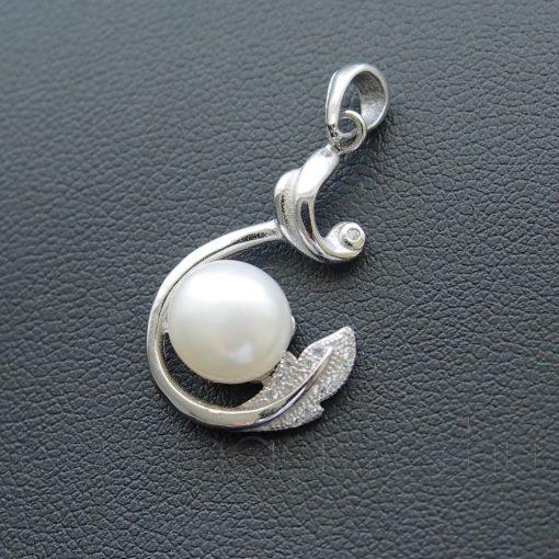 Barokk Tenyésztett Gyöngy medál