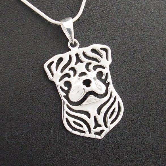 Kutya ezüst medál 3