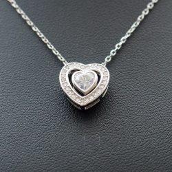 Szívben szív medál nyakláncon