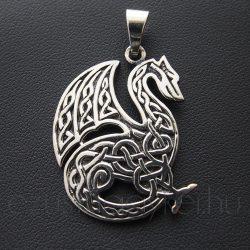 Kelta  Levegő Sárkány  ezüst medál