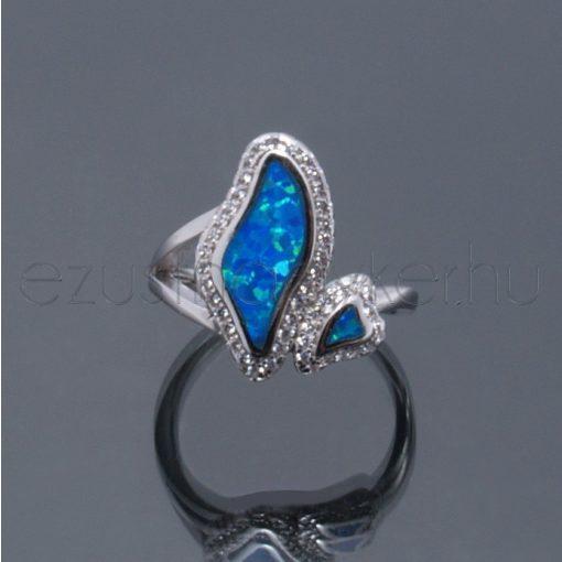 Opál gyűrű amorf2