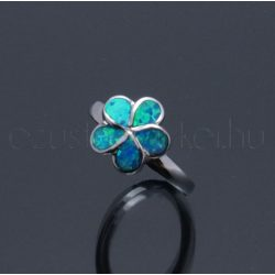 Opál gyűrű kis virág