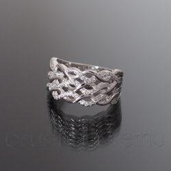 Ezüst gyűrű 3fonás