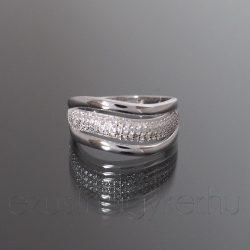 Ezüst gyűrű 3hullám