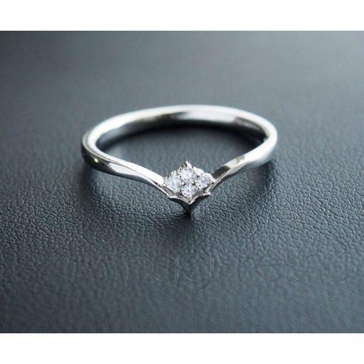 Köves Victoria Ezüst Gyűrű