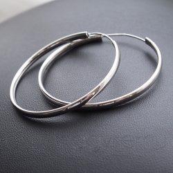 Karika fülbevaló 4,5 cm-es