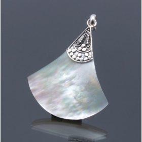 Gyöngyház ezüst ékszerek
