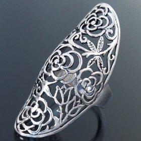 Kő nélküli ezüst gyűrűk